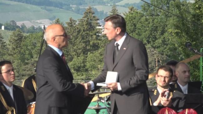 Častni znak svobode Republike Slovenije Borisu Frasu