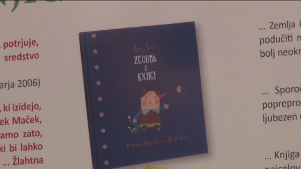 Akcija Društva Jasa Dobro je brati dobre knjige
