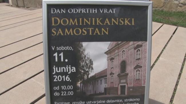 Vrata je odprl Dominikanski samostan na Ptuju