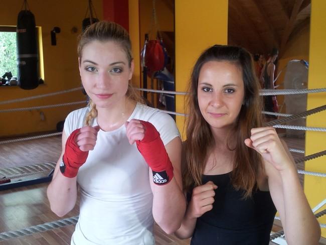 Od blizu - levo Anja, desno Monika