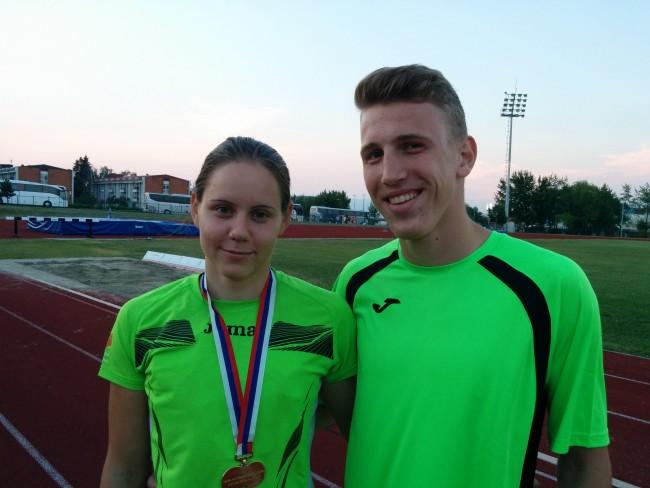 Maja Bedrač balkanska prvakinja v atletiki