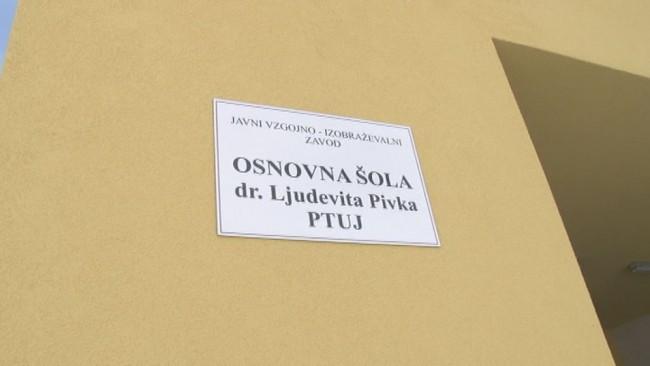 V Osnovni šoli dr. Ljudevita Pivka z veseljem čakajo na otvoritev nove šole