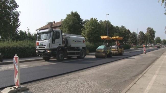 CPP obnovilo cestišče Osojnikove ceste
