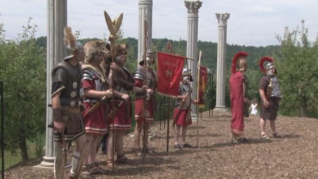 Otvoritev IX. Rimskih iger