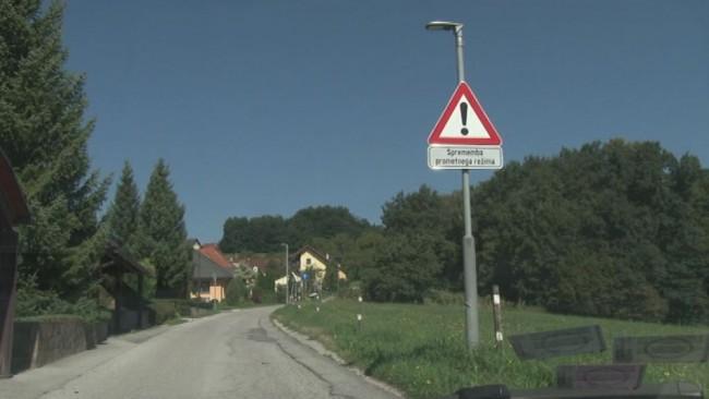 Spremenjen prometni režim v Ulici Jožefe Lackove
