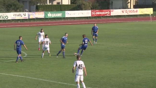 Visok poraz nogometašev Drave
