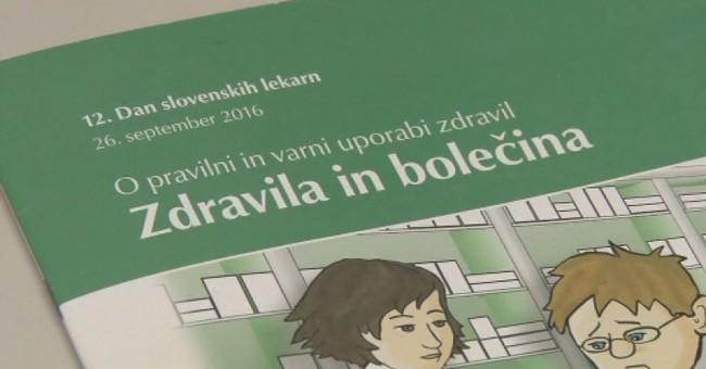 12. Dan slovenskih lekarn – Zdravila in bolečina
