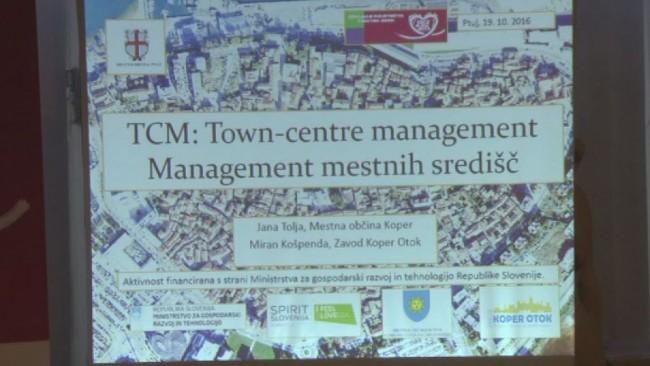 Menedžment mestnih središč