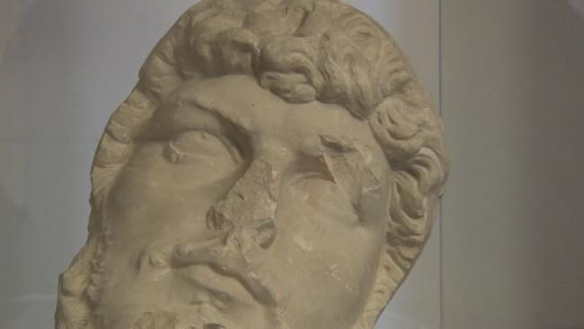 Portret rimskega cesarja Lucija Vera