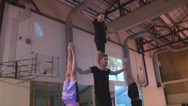 Gimnastična predstavitev