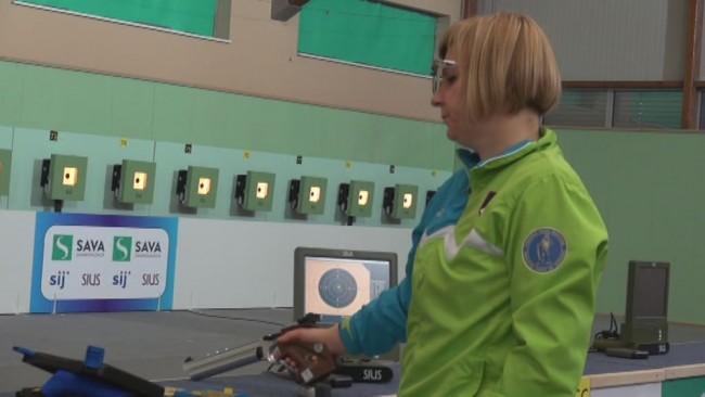 Majda Raušl nastopila na evropskem prvenstvu v streljanju