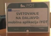 Mobilna aplikacija iYOT