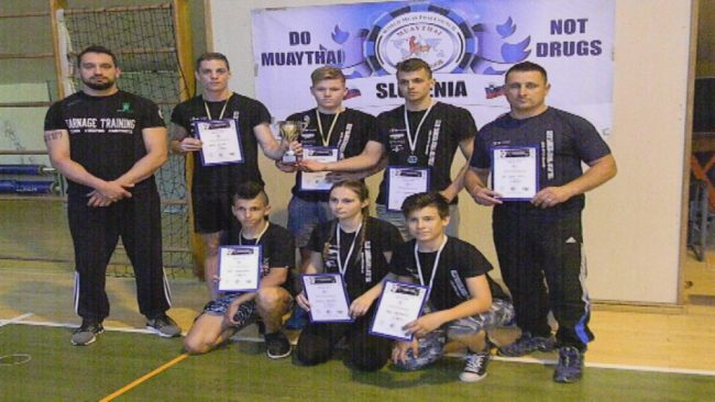 Uspehi ptujskih tekmovalcev v tajskem boksu