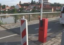 Peš most kot začasna intervencijska pot
