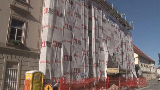 Obnova fasade na Olgici