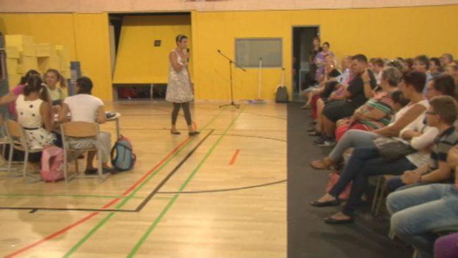 Prvi šolski dan na Osnovni šoli dr. Ljudevita Pivka