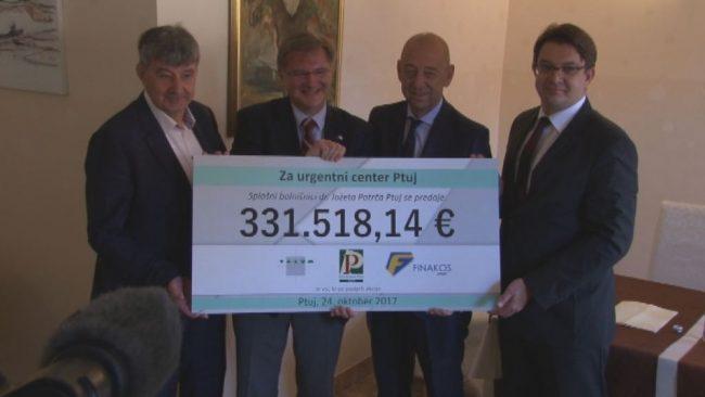 Za urgentni center zbrani 331 tisoč evrov