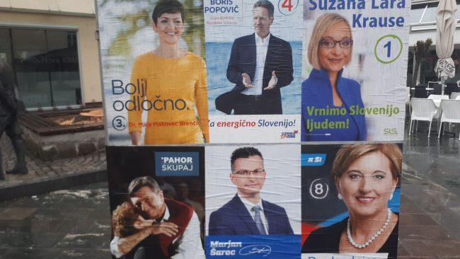 Šarec in Pahor v drugi krog