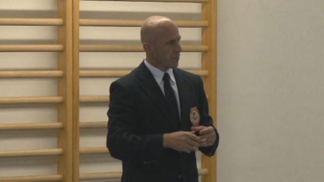 Karate sodnik Andrej Cafuta