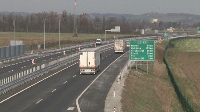 Otvoritev dela avtoceste