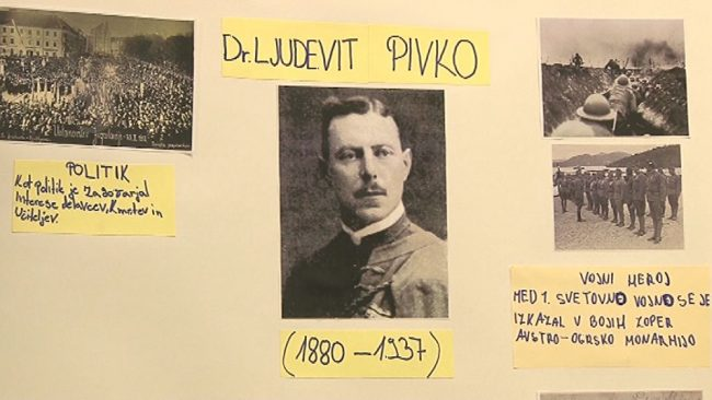 Razstava in film od dr. Ljudevitu Pivku
