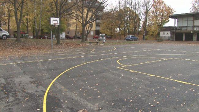Obnova športnega igrišča za avtobusno postajo