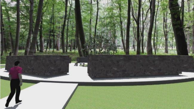 Začetek gradnje žarnega zidu