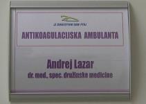 Antikoagulacijska ambulanta v Zdravstvenem domu Ptuj