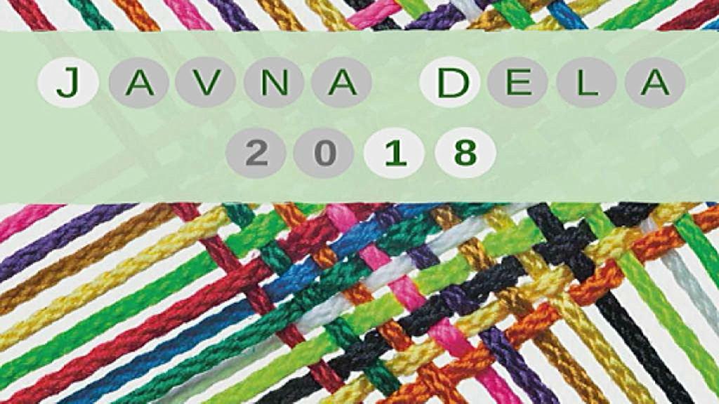 Program javnih del za leto 2018