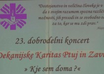 Dobrodelni koncert v tednu Karitas