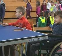 Predstavitev športov za invalide