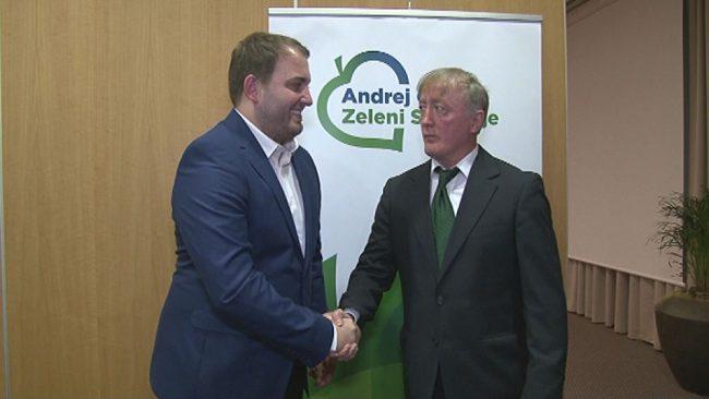 Andrej Čuš in Zeleni Slovenije