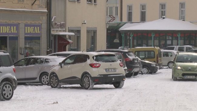 Zimske razmere na cestah