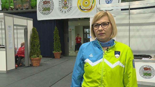 Majda Raušl tekmovala na evropskem prvenstvu
