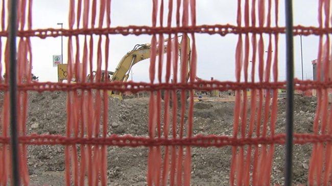 Gradnja novega bencinskega servisa na Ptuju