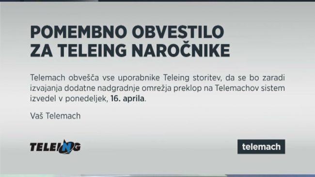 Nova Telemachova tv shema