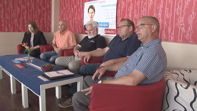 Predstavitev kandidatov Stranke Alenke Bratušek