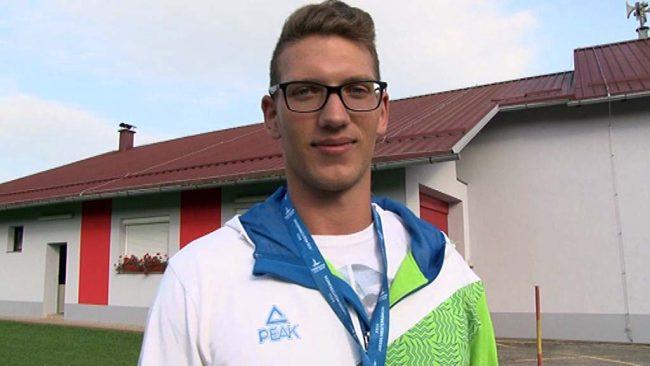 Kristjan Čeh drugi na sredozemskih igrah
