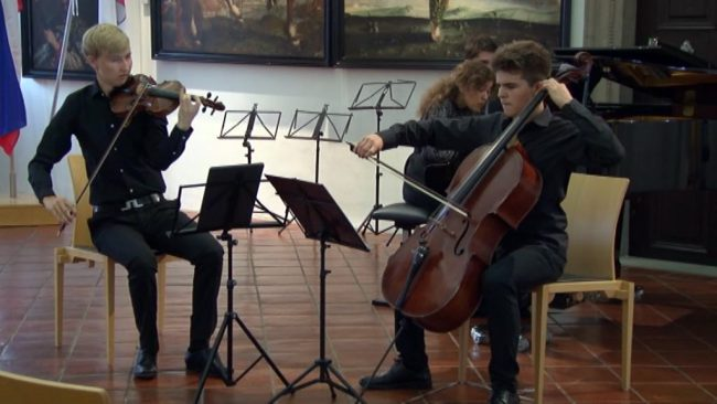Koncert komorne glasbe Colluvio