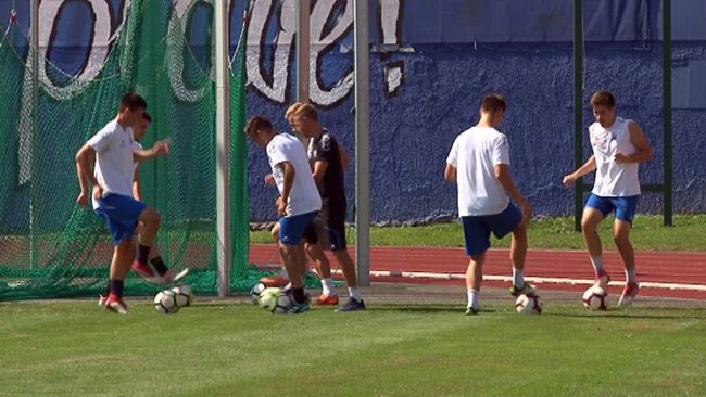 Priprave Nogometnega kluba Drava