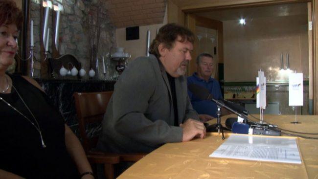 Predstavitev Štefana Čelana za župana