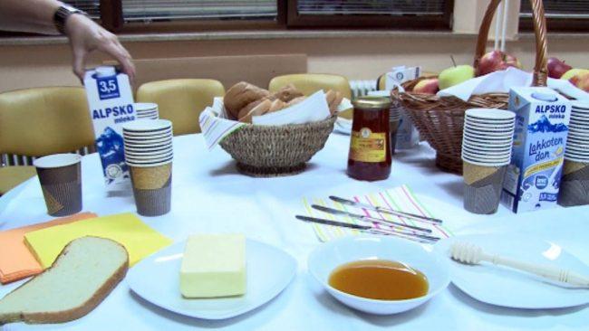 V Zdravstvenem domu Ptuj zdrav zajtrk
