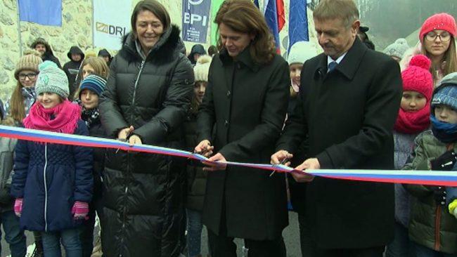 Otvoritev avtocestnega dela med Podlehnikom in Gruškovjem