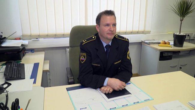 Novi komandir Policijske postaje Ptuj je Aleš Hanžekovič