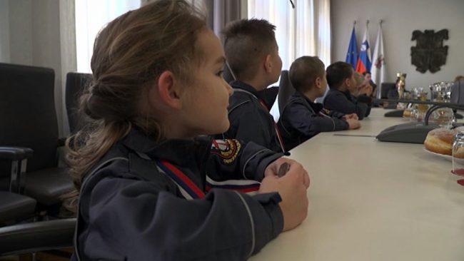 Županja sprejela mlade gasilce