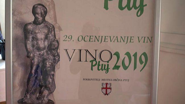 Ocenjevanje vin Vino Ptuj 2019