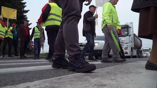 Protestni shod na Ormoški cesti