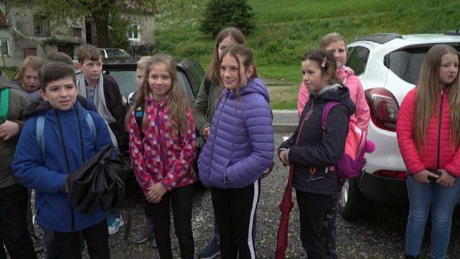 Učenci potovali na izlet v Prekmurje