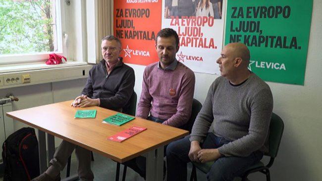 Odprtje pisarne stranke Levica na Ptuju