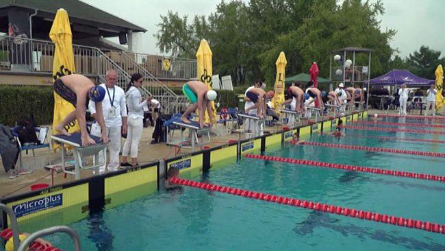 Množično plavalno tekmovanje na Ptuju